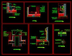 دانلود نقشه اتوکد جزییات اجرایی توالت فرنگی و ایرانی، سینک دستشویی، آبرو بام، تی شور، درپوش داکت تاسیسات