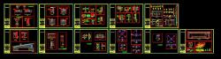 دانلود فایل اتوکد جزییات و دیتایل اجرای نقشه های معماری فاز2